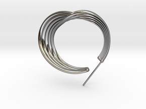 Liza Earring - Kukla collection in Fine Detail Polished Silver