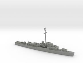 1/1800 Scale John C. Butler-class DE in Gray PA12