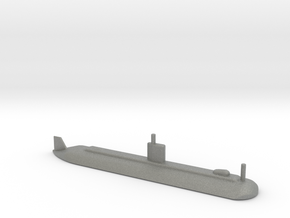 1/1800 Scale USS Dolphine AGSS-555 in Gray PA12