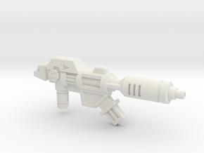 Wreck-Gar's Decelerator Laser (3mm, 5mm) in White Natural Versatile Plastic: Medium