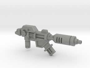 Wreck-Gar's Decelerator Laser (3mm, 5mm) in Gray PA12: Medium