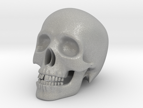Human Skull (Medium Size-10cm Tall) in Aluminum
