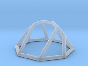 "Minimal ""irregular"" polyhedron in Smooth Fine Detail Plastic: Small"