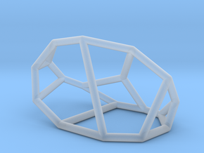 """""""Irregular"""" polyhedron no. 1 in Smooth Fine Detail Plastic: Small"""