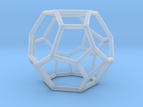 """""""Irregular"""" polyhedron no. 4 in Smooth Fine Detail Plastic: Small"""