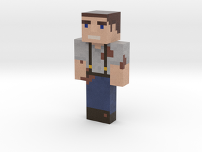Muddys-Minecraft-Skin | Minecraft toy in Natural Full Color Sandstone