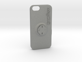 iPhone 5S & SE Wahoo Mount Case - Centre in Gray Professional Plastic
