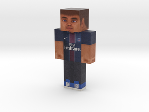 Steve_HD_PSG_shirt | Minecraft toy in Natural Full Color Sandstone