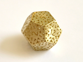 D12 Balanced - Lace in Natural Brass