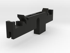 Rudy's HERO V3 clamp switch holder in Black Natural Versatile Plastic