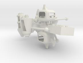 Spaceage tubs.  in White Natural Versatile Plastic