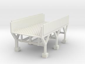 bridge  wide   in White Natural Versatile Plastic