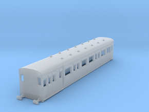 o-148-secr-railmotor-artic-514-brake-coach-2 in Smooth Fine Detail Plastic