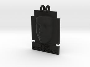 Cosmiton P Serge Gainsbourg 25 mm in Black Premium Versatile Plastic