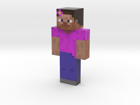 jim | Minecraft toy in Natural Full Color Sandstone