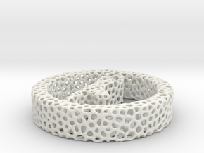 1aq_voronoi yoga in White Natural Versatile Plastic