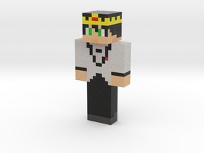 white | Minecraft toy in Natural Full Color Sandstone