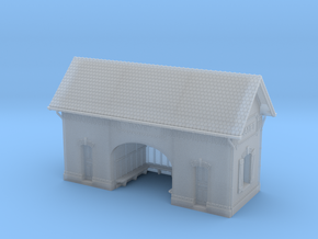 NBay01 - Bayet's Platform shelter in Smooth Fine Detail Plastic