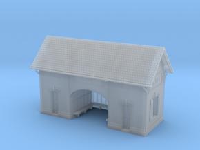 NBay01 - Bayet's Platform shelter in Smooth Fine Detail Plastic