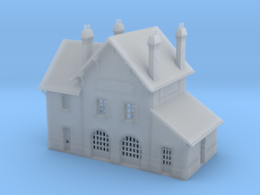 ZBay03 - Bayet's traveler building in Smooth Fine Detail Plastic