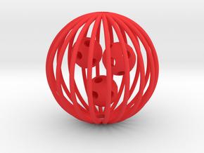 cat ball in Red Processed Versatile Plastic