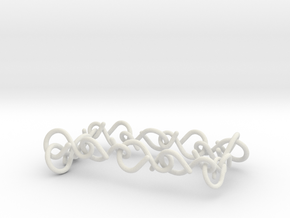 11yoga  bracelet woman in White Natural Versatile Plastic