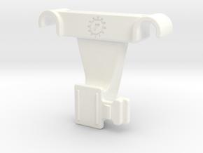 Bontrager Flare Saddle Rail Mount in White Processed Versatile Plastic: Large