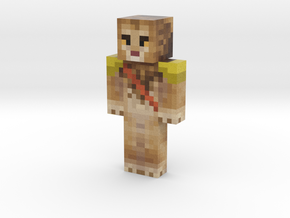 Lionka | Minecraft toy in Natural Full Color Sandstone
