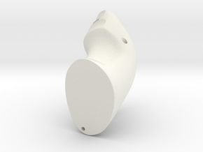 Custom Controller in White Natural Versatile Plastic: Medium