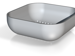 sieve strainer sifter various hole size options in White Natural Versatile Plastic: Extra Small