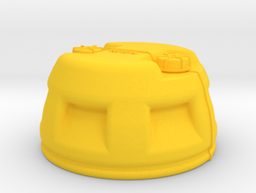 1/8 Shark Hunter Barrel TOP in Yellow Processed Versatile Plastic