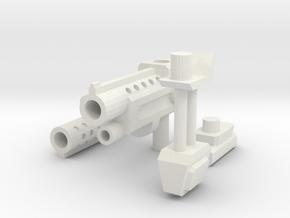 TF gun 2.0 in White Natural Versatile Plastic