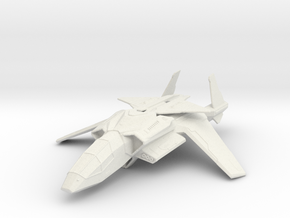 Halo UNSC Falcon Fighter 1:72 in White Natural Versatile Plastic