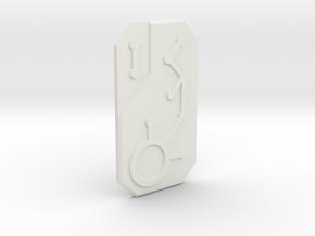 TF shield in White Natural Versatile Plastic