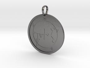 Marax Medallion in Polished Nickel Steel