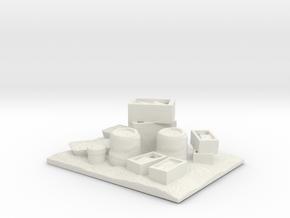 Village - Dock Supplies  in White Natural Versatile Plastic