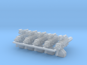 Tactical Thunderbolt Rifle #1 x5 in Smooth Fine Detail Plastic