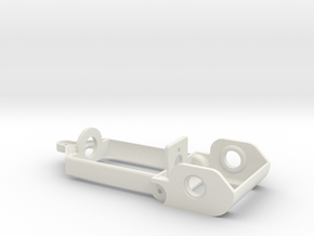 "D16 motor holder ""Back to '60"" chassis in White Natural Versatile Plastic"