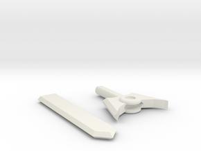 basic TF sword in White Natural Versatile Plastic