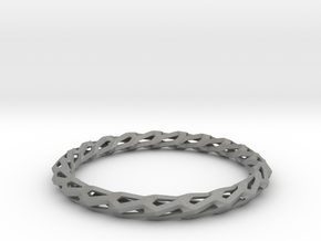 H Bracelet, Medium Size, d=65mm in Gray PA12: Medium