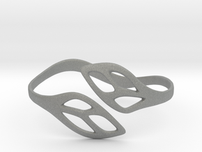 FLOS Bracelet. Smooth Elegance. in Gray PA12: Extra Small