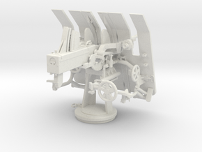 Best Cost 1/35 DKM 3.7cm Flak M42 Single Mount in White Natural Versatile Plastic