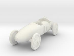 1/72 Benz Tropfenwagen in White Natural Versatile Plastic
