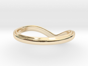 Chevron Ring Size 9 in 14K Yellow Gold