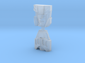 RiD Megatronus/Fallen Face Plates, G1 Style in Smooth Fine Detail Plastic