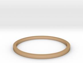 Ring Inside Diameter 16.4mm in Polished Bronze