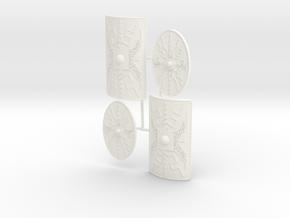ROMAN SHIELDS TITI  in White Processed Versatile Plastic