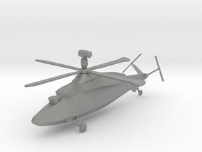 Westland WG.47B Stealth Helicopter in Gray PA12: 1:144