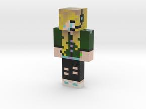 Evolie_Eden_Girl (1) | Minecraft toy in Natural Full Color Sandstone