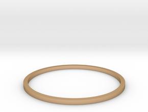 Ring Inside Diameter 21.4mm in Polished Bronze